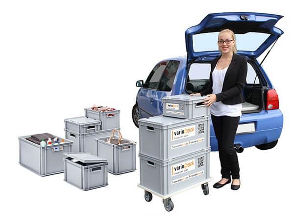 Varioipack Transport mit System