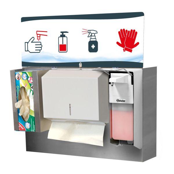 Hygienestation Montageset