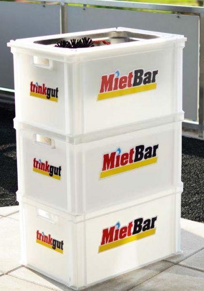 mobile Bar für Gartenparty