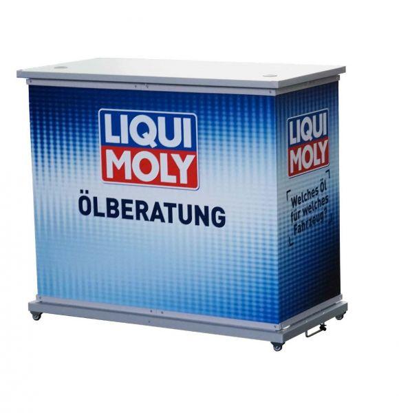 Promotiontheke Theke Liqui-Moly faltbar Outdoor