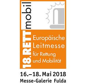 Rettmobil 2018 Messe Logo