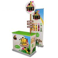 Promotionstand Roll-Up Sonderanfertigung
