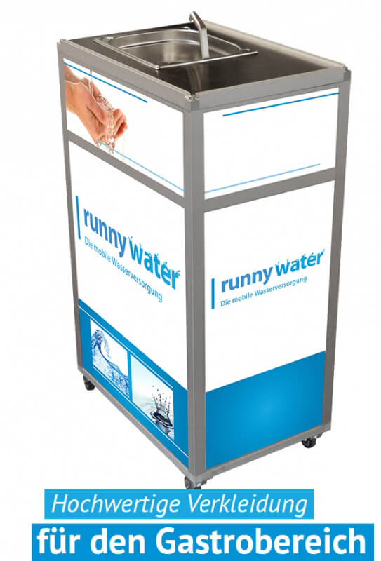 Wasserstation Integration im Gastrobereich - heißes Wasser