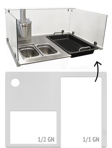 Showküche Currywurststand individuelle Arbeitsfläche