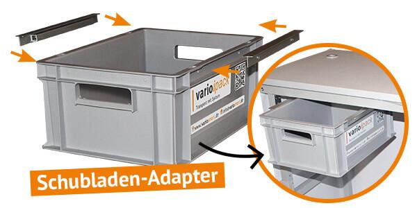 Varioipack - SchubladenAdapter