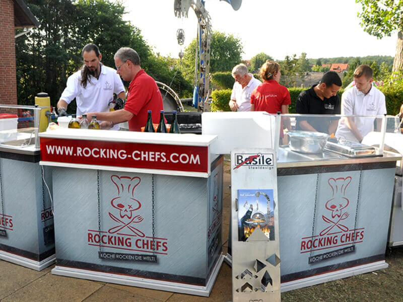 Livecooking Theke